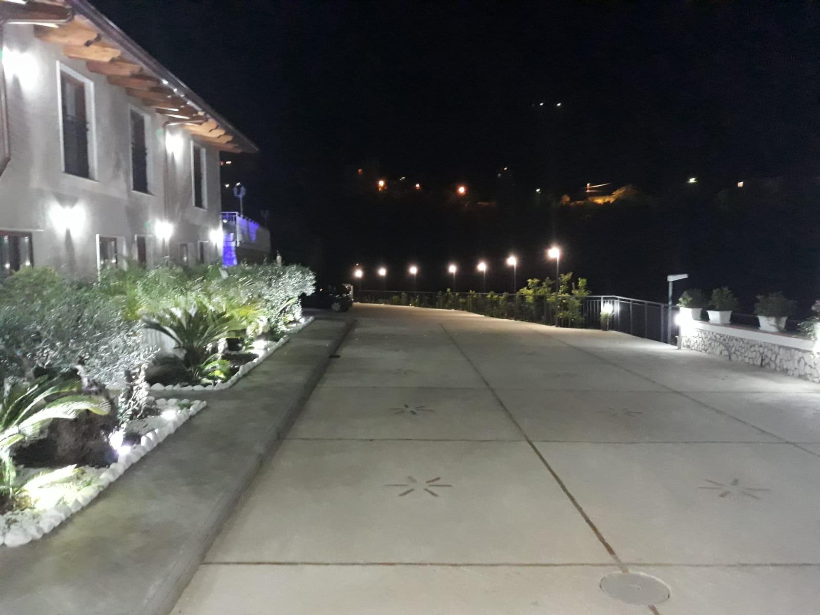 Villa Catiè - Il Parcheggio